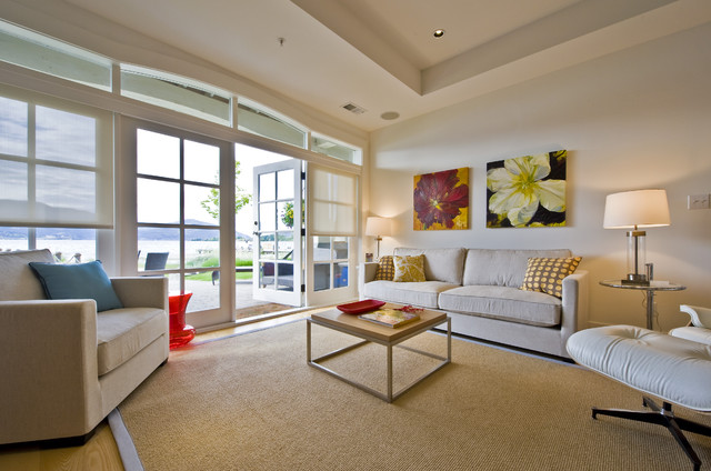 Living Room beach-style-living-room
