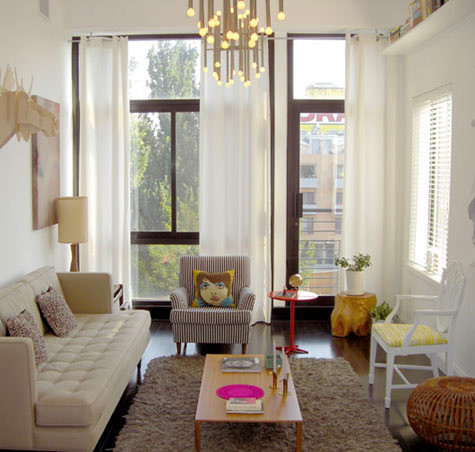Living room bright and airy for Bright living room designs