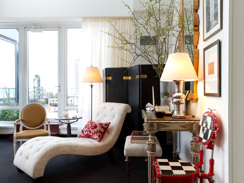 Living Room: Bunny Williams Inc., Brian J. McCarthy Inc., David Kleinberg Design
