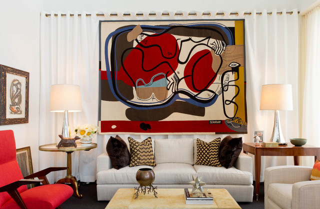 Living Room: Bunny Williams Inc., Brian J. McCarthy Inc., David Kleinberg Design contemporary-living-room