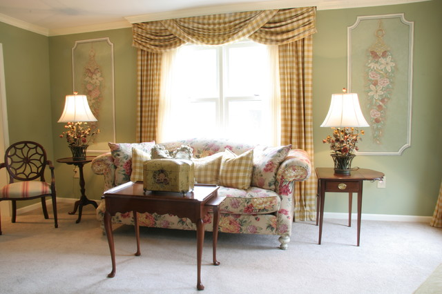 LIving Room by Joanna Hollis of Sheffield Furniture & Interiors traditional-living-room