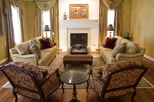 LIving room by Merrie Turney at Sheffield Furniture & Interiors traditional-living-room