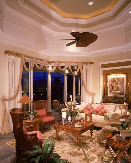 Living room for Tropical living room design