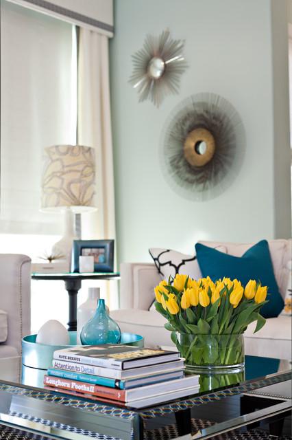 Living Room Chic modern-wohnbereich