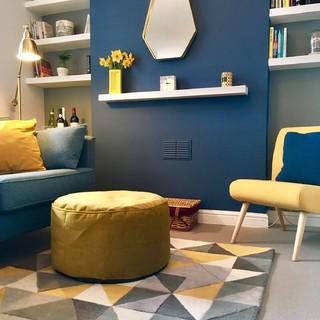 75 Most Popular Budget Blue Living Room Design Ideas For December 2020 Stylish Budget Blue Living Room Remodeling Pictures Houzz Au