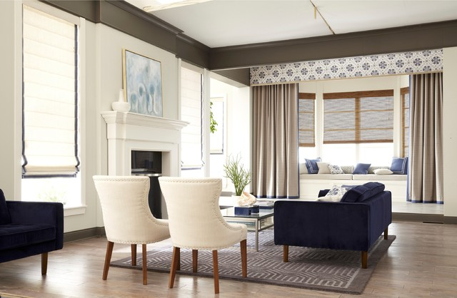 Living Room Custom Decorating - Living Room - Dallas - by JCPenney