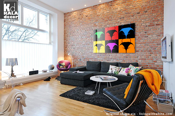 Living room decorating ideas modern living room for Contemporary wall art for living room