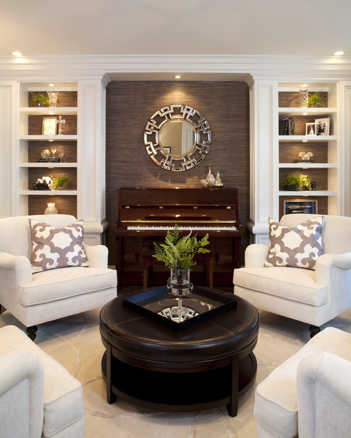 Inspiration For A Timeless Living Room Remodel In San Diego
