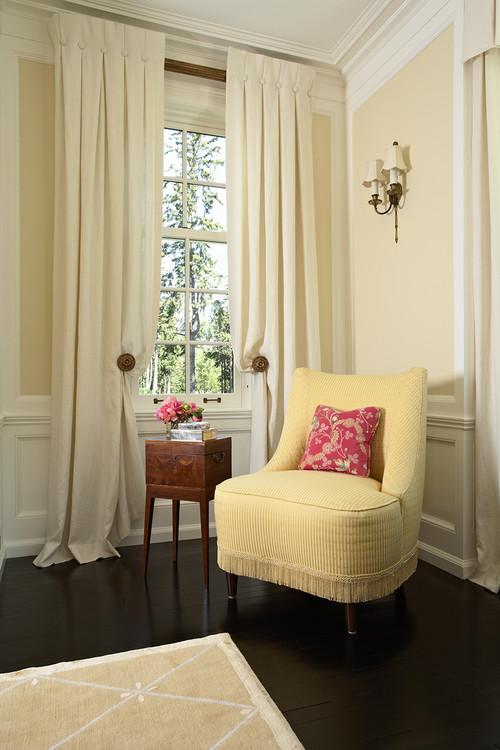 Lemon Sorbet Living Room