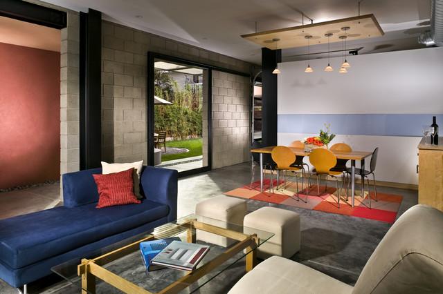 Living Room / Dining Room beyond modern-living-room