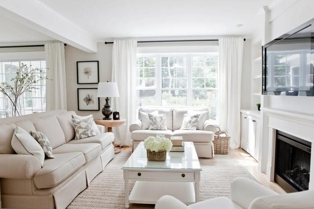 living room dining room contemporary living room montreal by - Living Room And Dining Room Ideas