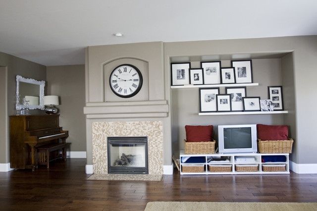 Living Room / Dining Room. eclectic-living-room