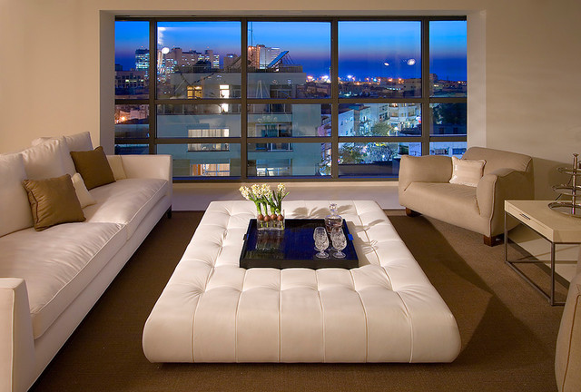 Perfect Contemporary Living Room By Elad Gonen
