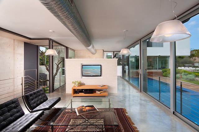 Living room minimalistisch wohnbereich sonstige von elad gonen