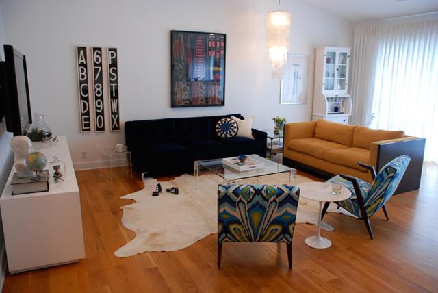 Living Room, Encino CA eclectic-living-room