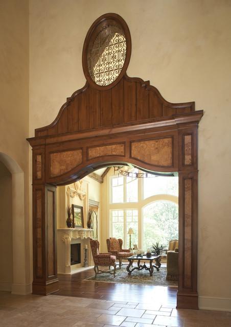 Living Room Entrance traditional-living-room