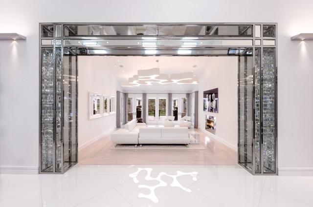 Living Room Entry contemporary-living-room