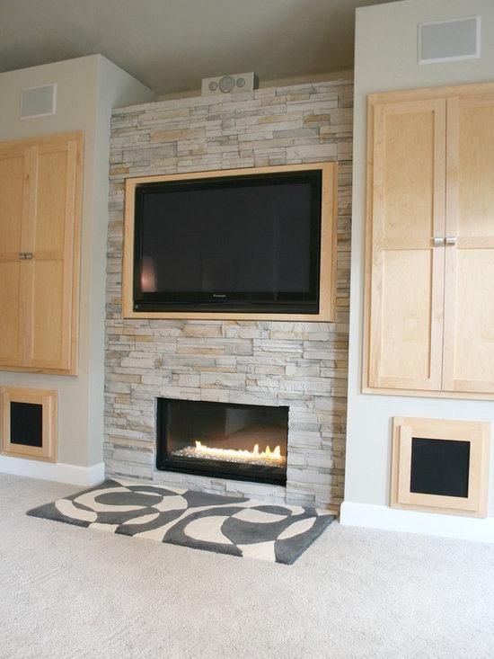Save email for Modern living room built ins