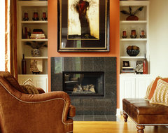 Living Room Fireplace contemporary-living-room
