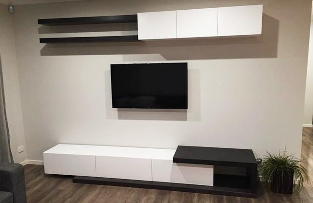 b274d7c758c Living Room Floating TV Wall Unit - Modern - Living Room - Sydney ...