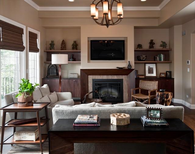 living room contemporary living room chicago by fredman design group. Black Bedroom Furniture Sets. Home Design Ideas