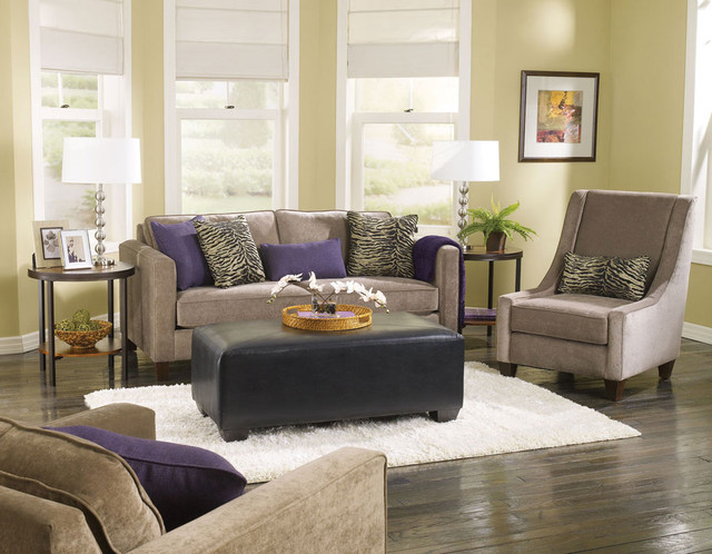 Living Room Furniture Collections Contemporary Living Room Chicago By Brook Furniture Rental