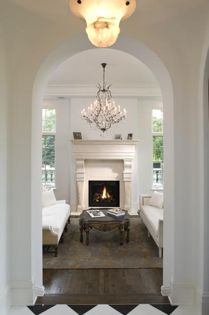 Living Room/Hallway mediterranean-living-room