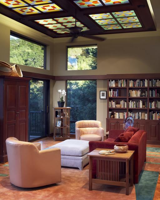 Living Room craftsman-living-room