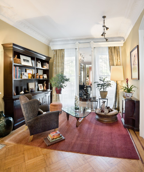 Living Room, Historic Townhouse, Brooklyn, New York