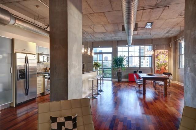 living room industrial-living-room