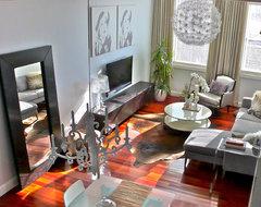 Living room transformation modern-living-room