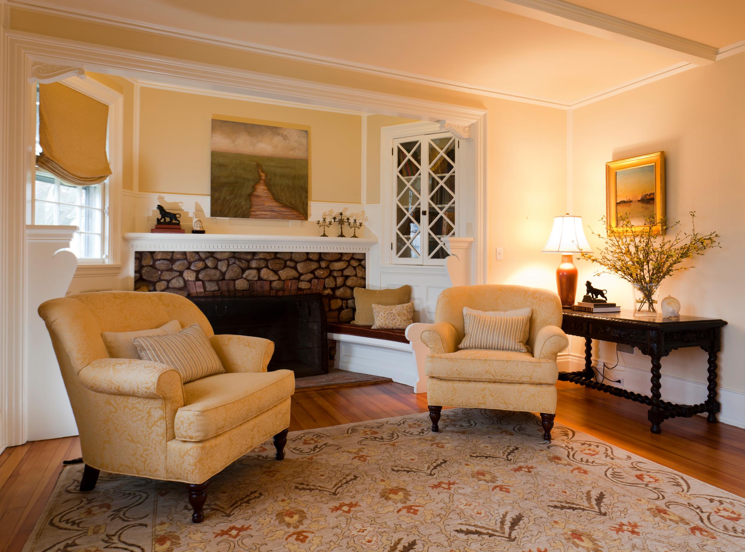 Living Room in Historic 1890's Seaside Home