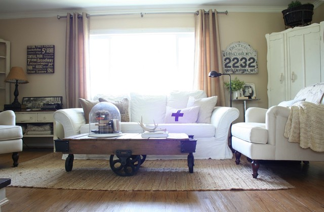 Jennifer Grey traditional living room