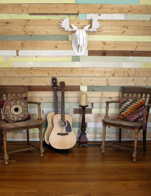 Eclectic Living Room by Jonnie Andersen