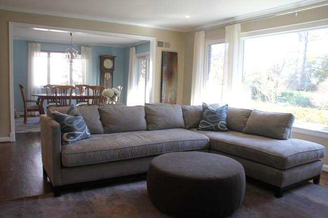 Living Room-Kenwood Bethesda,MD contemporary-living-room