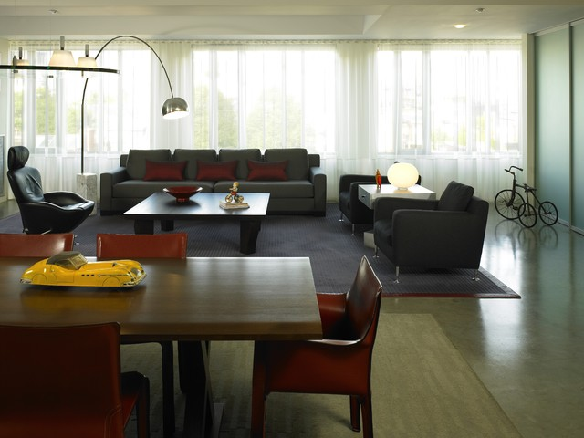 Living Room Modern Living Room Boston By Kristen