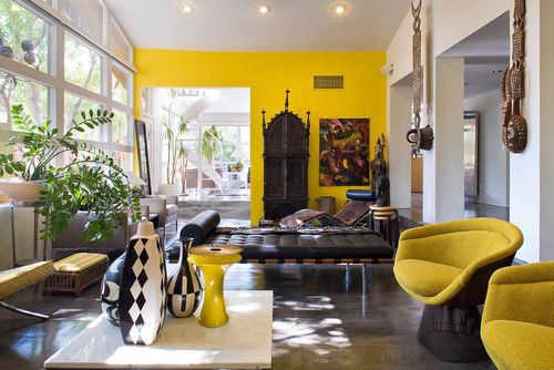 What is the mustard color wall love it for Living room ideas mustard