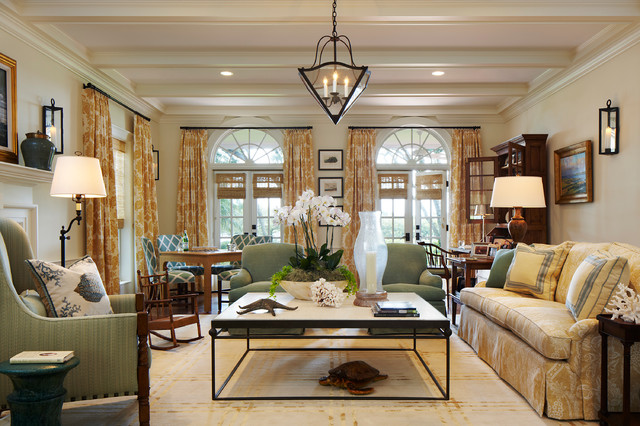 traditional living room by l k defrances associates - Ideas For Living Room Furniture Layout