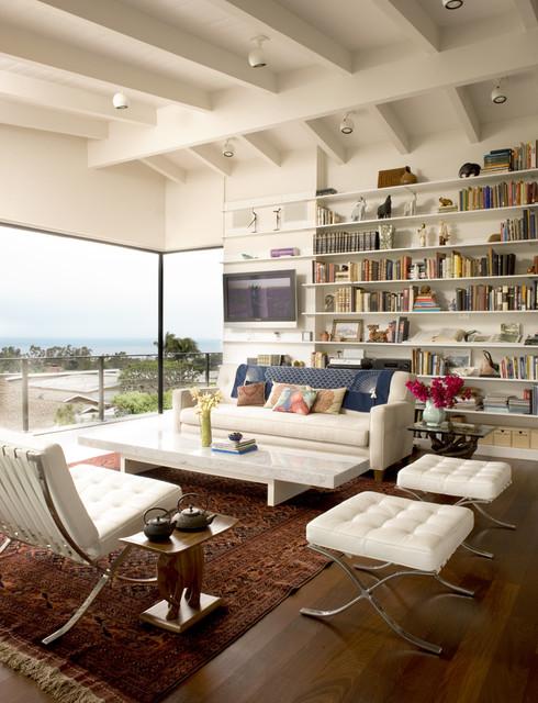 Living room midcentury-living-room