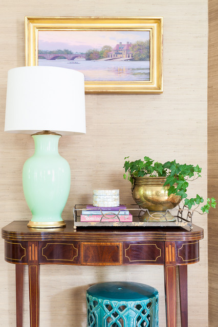 Living Room Lamp And Table Traditional Living Room Boston By Greg Per