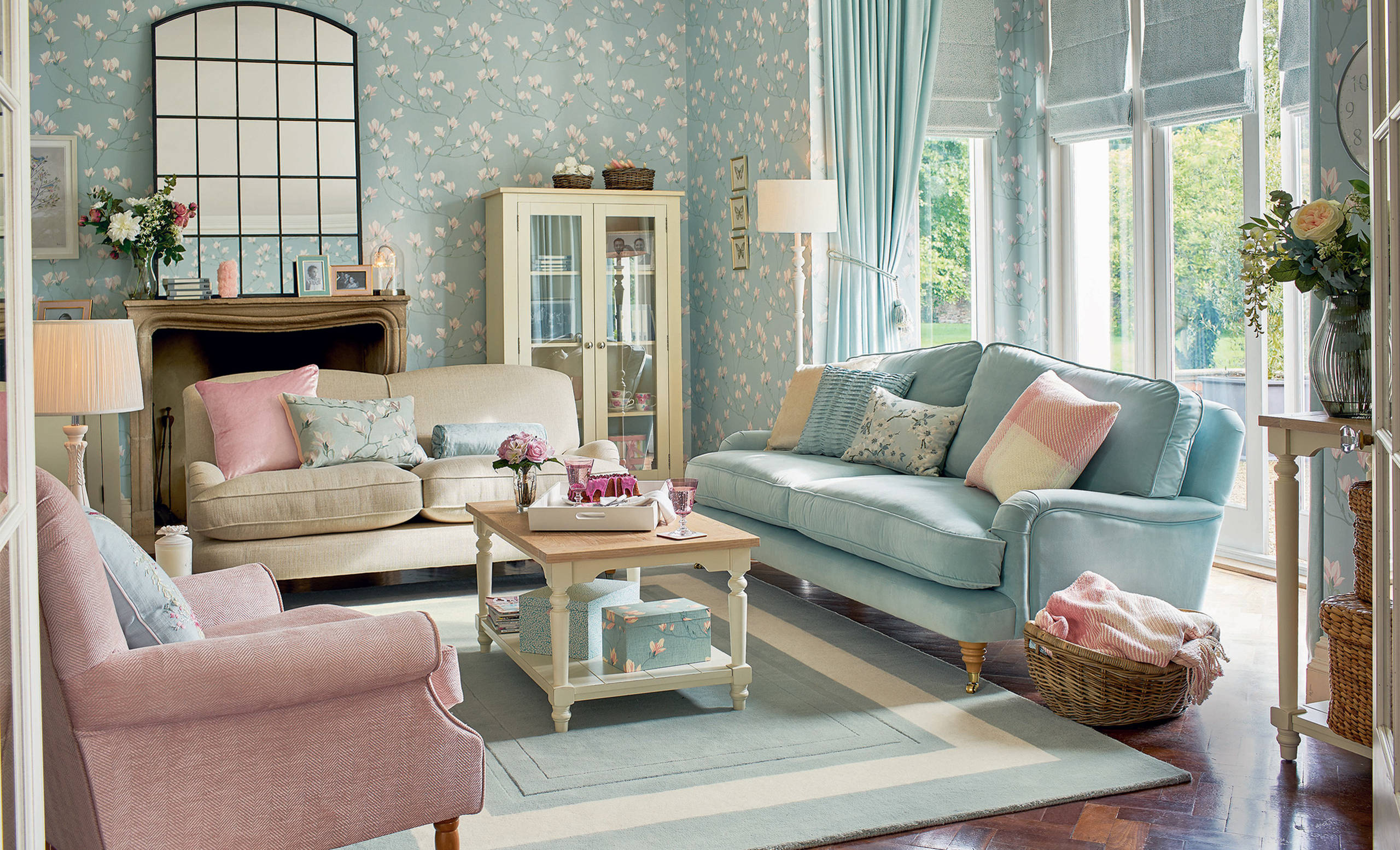 Duck Egg Living Room Ideas & Photos  Houzz