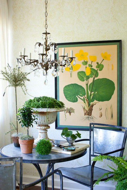 Inspiration for an eclectic living room remodel in DC Metro
