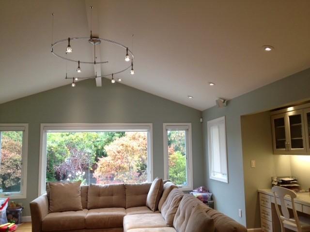 Living Room LED LightingTransitional Living Room, San Francisco