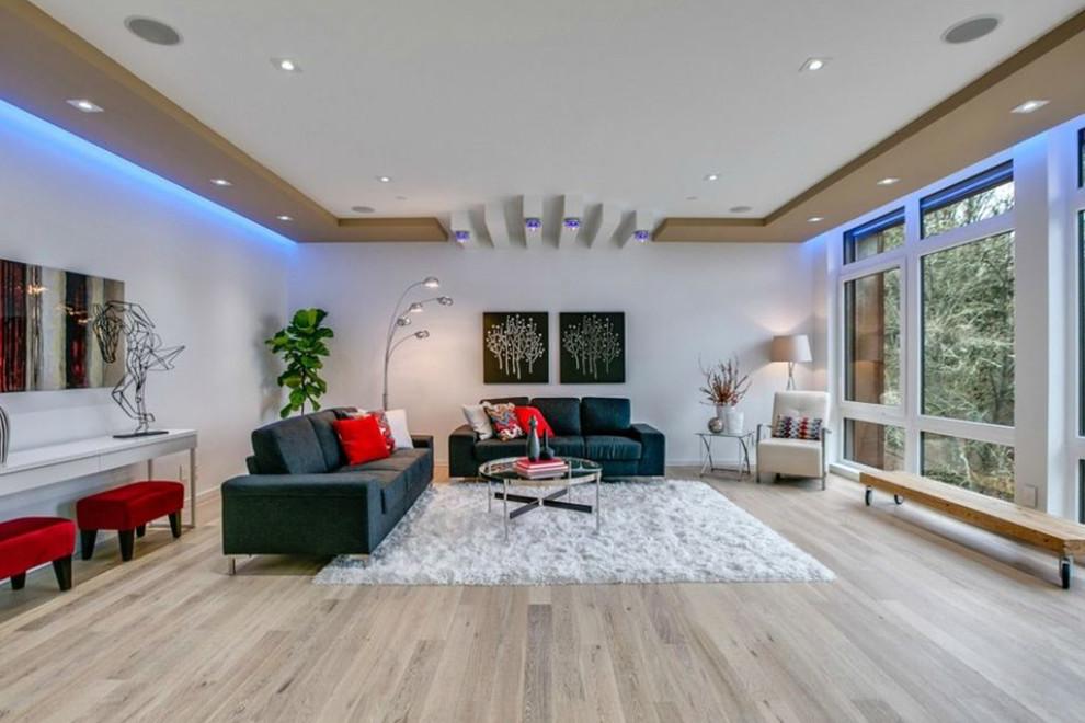 Living Room Led Lighting Modern