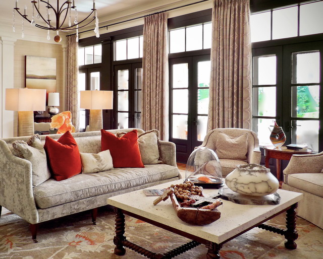 Florida Home Transitional Living Room Orlando By LGB Interiors
