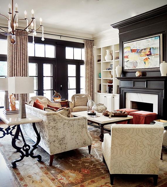florida home   transitional   living room   orlando   by