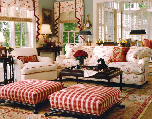 Country Living Room Decor Houzz - Traditional living rooms ideas