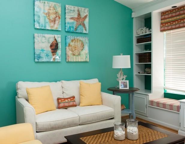 Living room for Ocean themed living room decorating ideas
