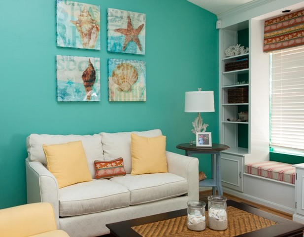 Living room for Tropical interior paint colors