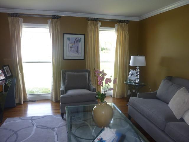 Living room Makeover modern-living-room